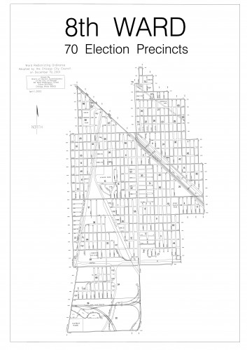 8th ward Map