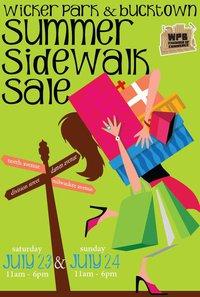 Wicker Park Chamber of Commerce Sidewalk Sale