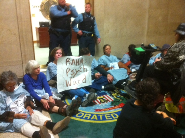 Dramatic Protest Yields No Results As Emanuel Budget Passes