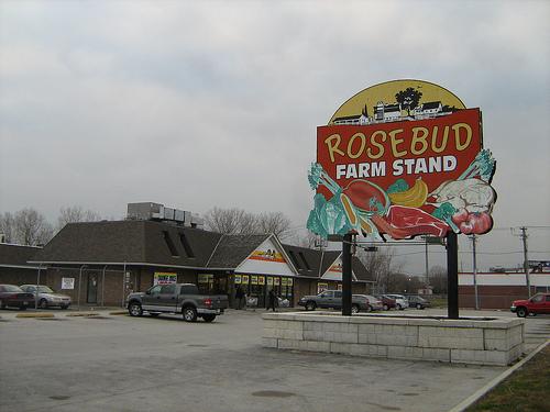Rose Bud Farm Store outside Altgeld Gardens