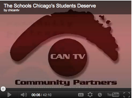 The Schools Chicago's Students Deserve (VIDEO)