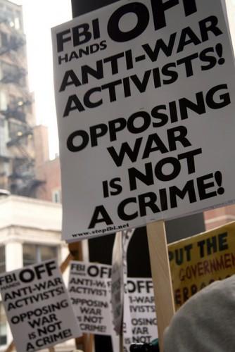Marathon Alternative: Chicagoans Protest 11th Anniversary Of The War In Afghanistan
