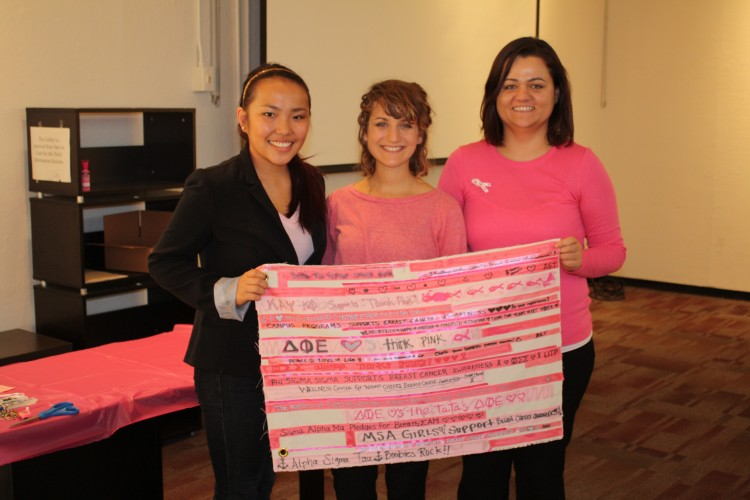 UIC Students Use Art To Create Breast Cancer Awareness