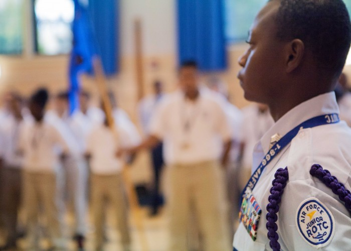 Air Force Academy High School Sets High Bars For Students