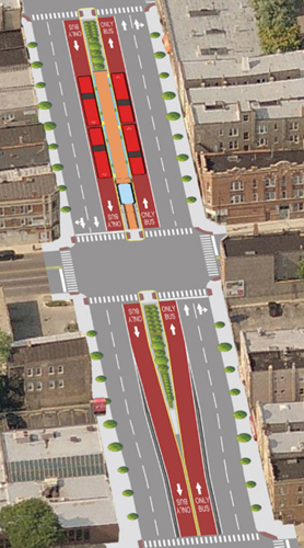 plan for BRT Ashland and Western