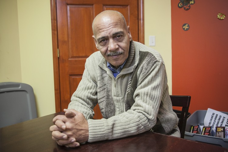 Zuhair Sulaiman, 58, is living as an Iraqi refugee in Chicago.