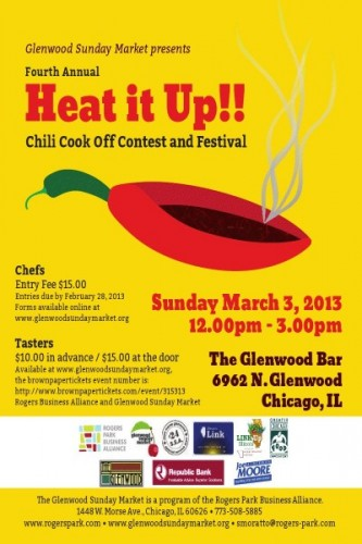 Rogers Park To Heat It Up With Cook-off