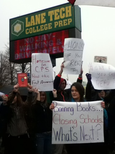 Lane Tech students take a stand against censorship