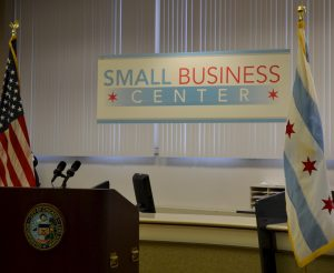 The Small Business Center is located on the eighth floor of City Hall and will serve as a one-stop-shop for those looking to open a small business. (Photo taken by Hannah Cole)