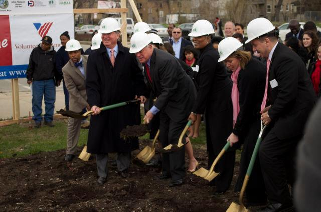 City starts construction on second housing project for veterans
