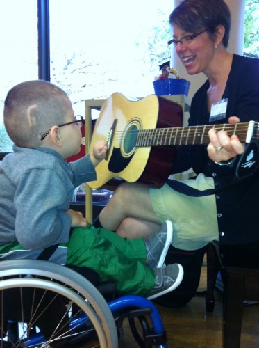 Music therapy strikes chord