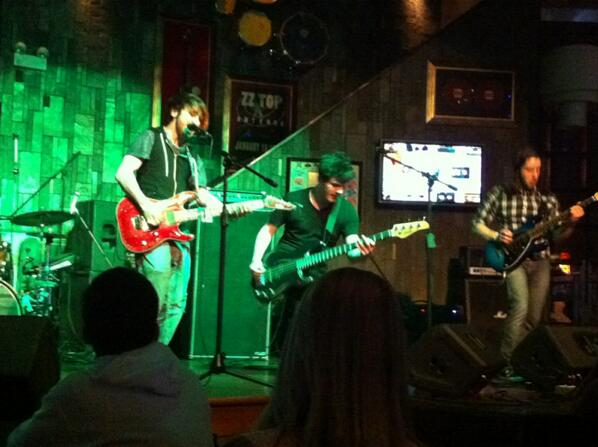 Underfire heats up the stage at the Hard Rock Cafe