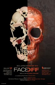 FACE OFF Skull-A-Day vs Street Anatomy Gallery Show Opens May 31st Museum of Surgical Science Chicago