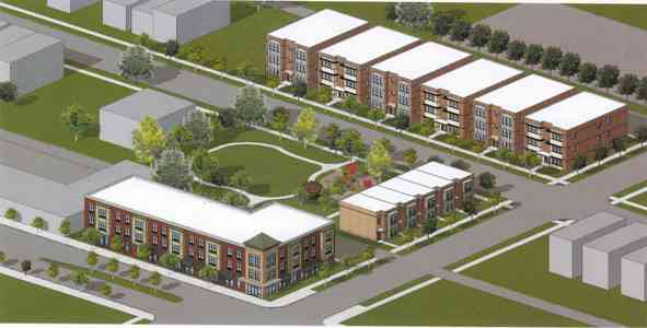 Englewood Community Eager for the Hope Manor Two Project