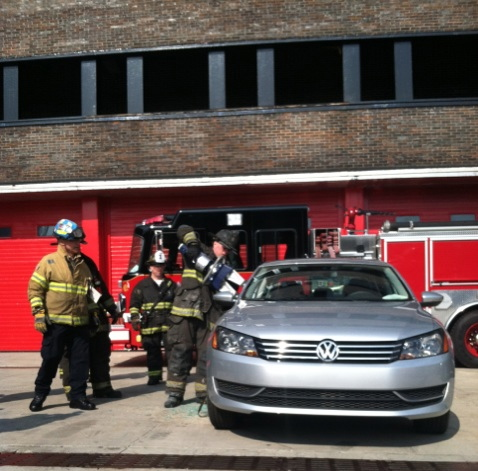 Volkswagen donates cars to Chicago Fire Department