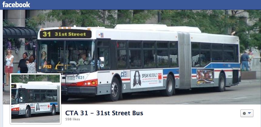 A Bus With Facebook Page LVEJOs Campaign For Better Public Transportation ChicagoTalks