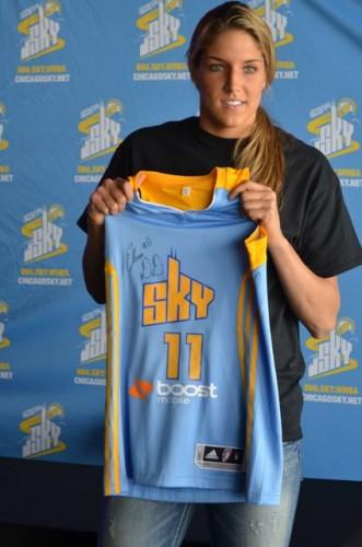 Elena Delle Donne joins Chicago Sky