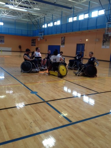 Chicago Bears Wheelchair Rugby Puts Football to Shame