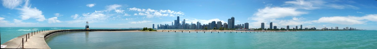Contamination in the Water and on the Beach Along the Lake Michigan Front