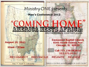 African and African-American Men Come Together at Men's Conference 2013
