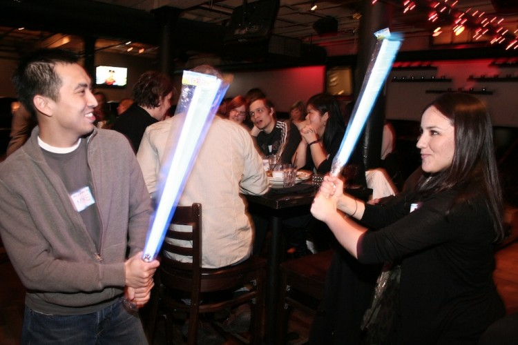 "Fourth Annual ""Nerd Year's"" Resolution Singles Party"