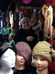 Piero Pessagno of Pallay Craft has been a vendor at Christkindlmarket Chicago for 10 consecutive years.