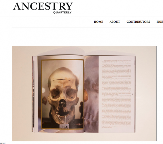 Evolution of Not so Ancient Ancestry Quarterly
