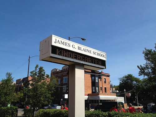 James G. Blaine budget cuts challenge school culture, practices