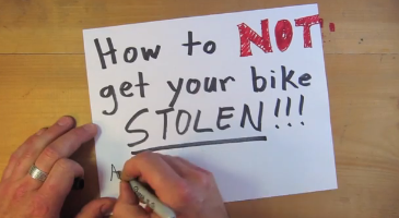 How Not to Get Your Bike Stolen