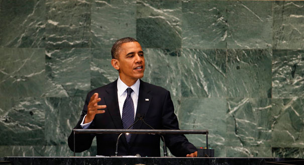 Obama addresses UN
