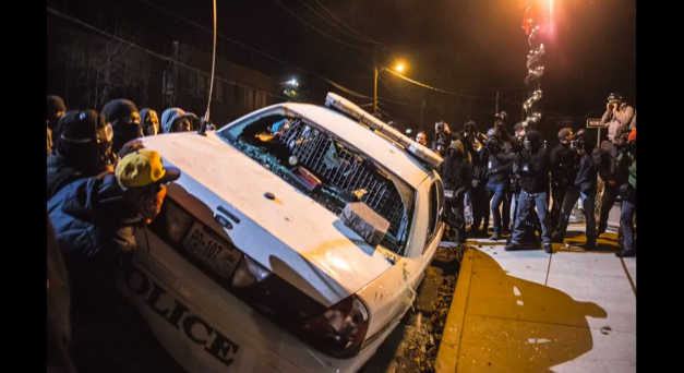 Scenes and Reflections from Ferguson Protests via a 28 MM Lens