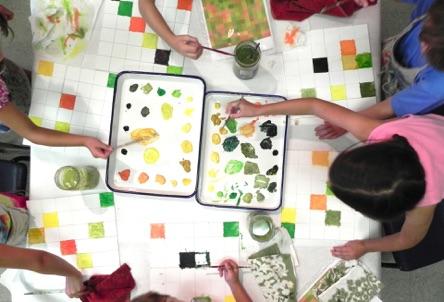 Unicoi Studio Turns Art Class into a Carnival