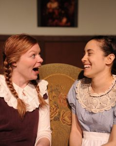Mary-Margaret Roberts and Jaclyn Holtzman take the stage in ANNE OF GREEN GABLES.